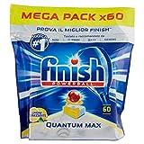 Finish Quantum Max Powerball, Geschirrspül-Tabs Zitrone 60 Tabs