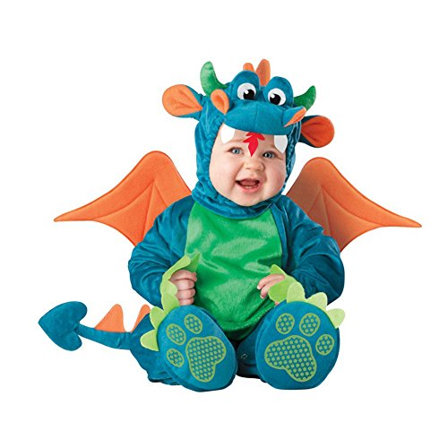 PerGrate perg Transferencia Navidad Halloween Infant Baby Jumpsuit Animales para Ropa Disfraz Dressing Baby Boy, 18, 90