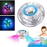 KingNew Badezimmer LED Flash Light kingnew Spielzeug Kid Farbwechsel Wasserdicht In Dose Bath Time Fun