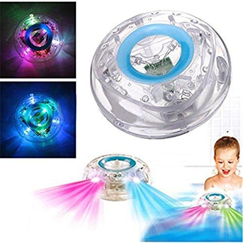 Badezimmer LED Flash Light kingnew Spielzeug Kid Farbwechsel Wasserdicht In Dose Bath Time Fun