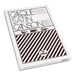 Canson Calque Satin 200017120 Papier calque A4 21 x 29,7 cm Translucide