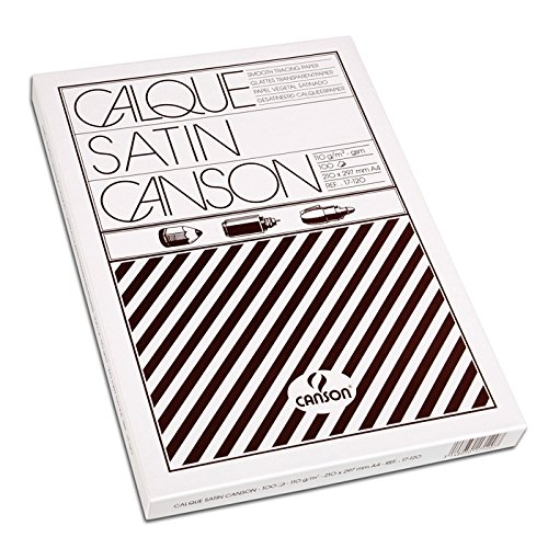 Canson Zeichenpapier Bogen/17120 A4 110/115g/qm Inh.100