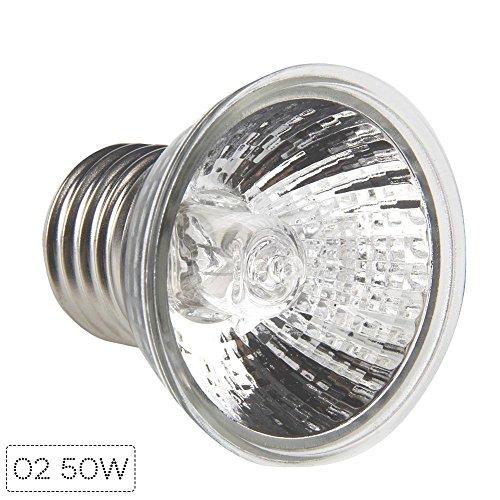 RUNGAO Reptile Haustier-LED Vollspektrum Sonnenlicht Basking UV-Lampe 50w