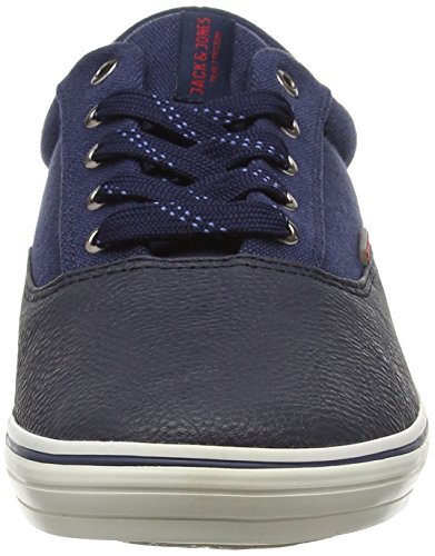 Jack & Jones Vision, Baskets Basses Homme Bleu - Blue (Navy Blazer)