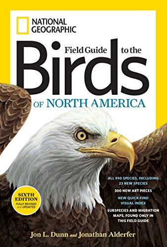 Field Guide To Birds Of North America (6th Edition): Guide Book (National Geographic Field Guide to the Birds of North America)