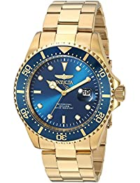Invicta Pro Diver Men's Analogue Classic Quartz Watch with Stainless Steel Bracelet – 23388