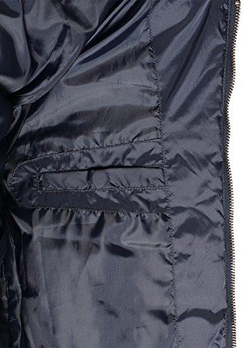 BLEND Camaro Herren Übergangsjacke Steppjacke mit Stehkragen aus hochwertiger Materialqualität Navy (70230)
