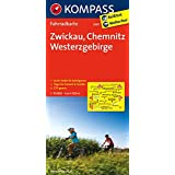 Zwickau - Chemnitz - Westerzgebirge: Fahrradkarte. GPS-genau. 1:70000 (KOMPASS-Fahrradkarten Deutschland, Band 3087)