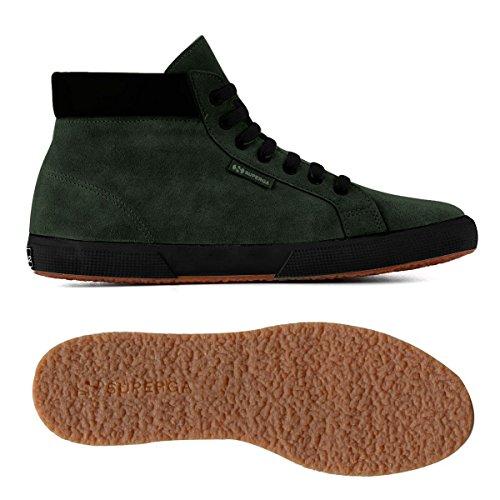 Superga 2204-Suem, Chaussures de Gymnastique Homme GREEN ARMY