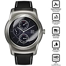 BlueBeach® LG Watch URBANE / G Watch R Protector de Pantalla HD Vidrio Templado