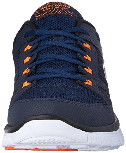 Skechers Flex Advantage - Chaussures de sport Homme Azul (Blau (Nvor)