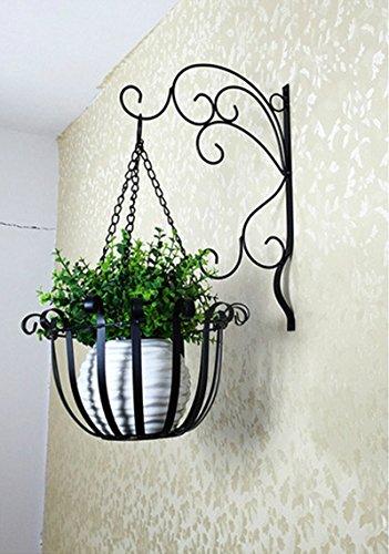 Im Freien Kraut Blumen Pflanze steht Europäische Art-Blumen-Rahmen-Wand-hängende Blumen-Töpfe-Wand-hängende Blumen-Zahnstange-Innen-Balkon-Blumen-Rahmen-hängende Blumen-Zahnstange Im Freien Kraut Blumen Pflanze steht ( farbe : #1 - Stand Freien Im Hängende Pflanze