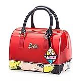 Barbie BBFB269 2017 Colección Nueva Bolsos Mujeres Rojos de Dulce Casual de PVC