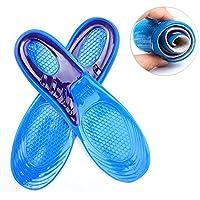 wuudi Silikon Gel-Einlegesohlen komfortablen Kissen Schuh Einlegesohlen Sport-Einlegesohlen für Männer Frauen... preisvergleich bei billige-tabletten.eu