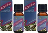 (2 Pack) - Absolute Aromas - Relaxation Blend Oil | 10ml | 2 PACK BUNDLE