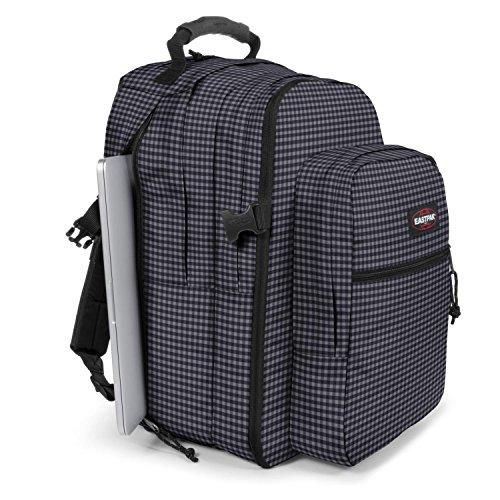 Preisvergleich Produktbild Eastpak Notebookrucksack Tutor Gingham Grey Laptop-Unirucksack Schulrucksack Grau | bis 43 Liter