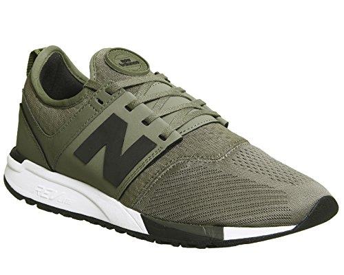 New Balance Chaussures Pour Hommes, Mod. Mr274, Couleur Noire, Tige En Maille Olive