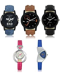 Victance New Aditon Stylist Watches With Multicolor Dial And Multicolor Leather Straps Casual Stylist Combo Watch... - B077N5YZS5