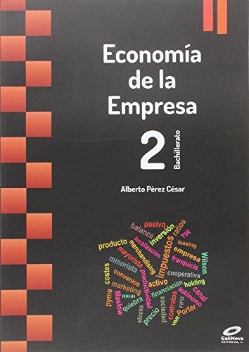 Economía en empresa 2º bachillerato 2015 - 9788497372534