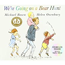 We're Going on a Bear Hunt (Book & CD) by Michael Rosen (2007-10-01)