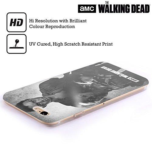 Offizielle AMC The Walking Dead Daryl Doppelte Aussetzung Soft Gel Hülle für Apple iPhone 5 / 5s / SE Sasha