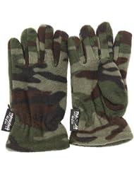 Gants thermiques Thinsulate (3M 40g) à motif camouflage - Garçon