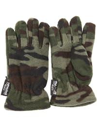 Jungen Thermo Handschuhe, Tarnfarben