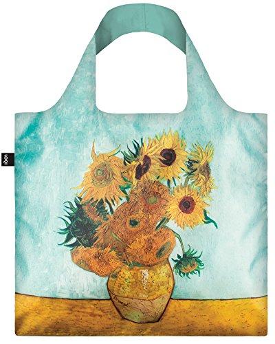 VAN GOGH Vase with Sunflowers, 1888 Bag - Einkaufstasche (Artist Tote Bag)