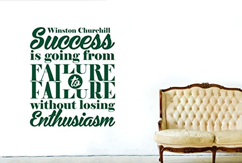 winston-churchill-success-is-going-from-failure-to-failure-without-losing-enthusiasm-vinilo-pegatina