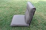 'Amaze' Portable Light weight Floor Meditation Yoga Adjustable back rest Chair Mat -Large (Brown)