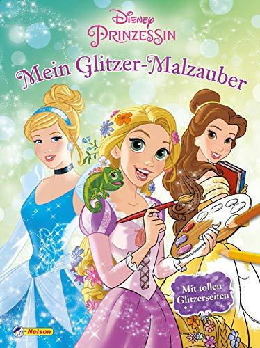 Disney Prinzessin: Mein Glitzer-Malzauber (Prinzessin-klassiker Belle Disney)