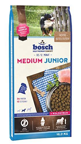 Bosch Medium Croquette pour Chiot Junior Moyenne Race 15 kg