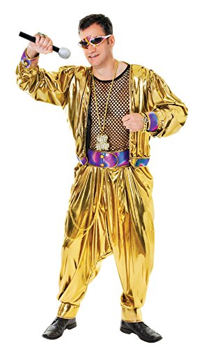 costume Adult Fancy Dress (Mc Hammer Kostüm)