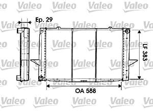 Valeo 698312 Moteur électrique, ventilateur pour radiateurs