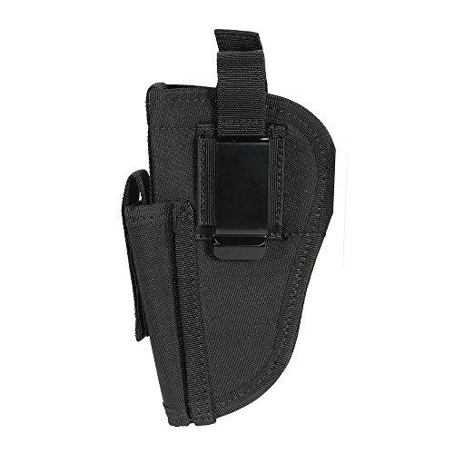 Lixada Tactical Rechts Links Austauschbare mit Mag Pouch, Material: Nylon (Holster Revolver)