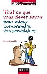 Tout ce que vous devez savoir pour mieux comprendre vos semblables de Serge Ciccotti