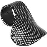 Ryde Bloque Accelerateur Pour Moto Régulateur de Vitesse Et Repose-Pouce - Effet Fibre de Carbone