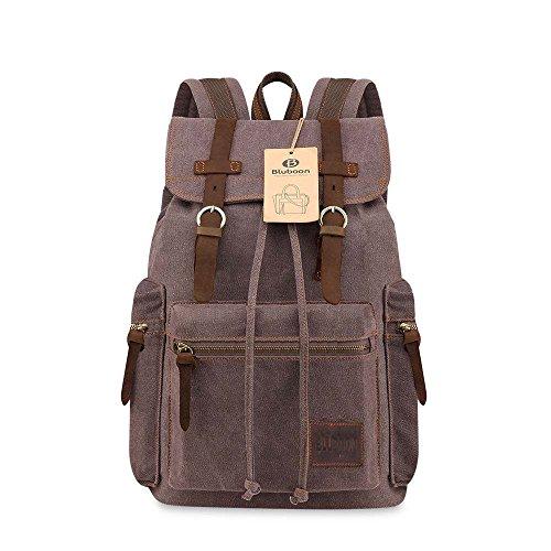 bluboon-tm-nuevos-vintage-canvas-mochilas-senderismo-mochilas-casual-lienzo-bolsas-marron-1-pieza