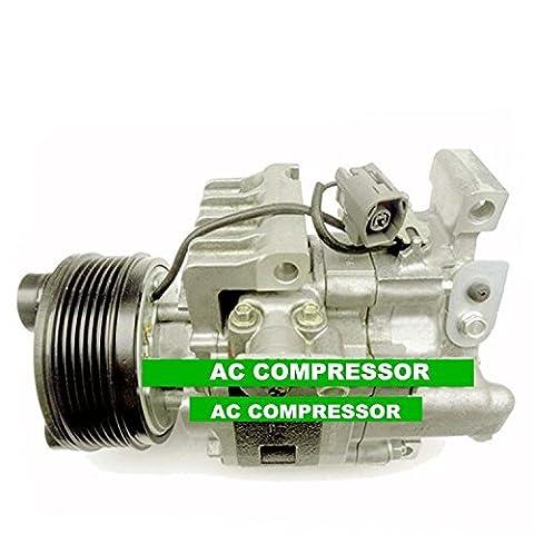 Gowe AC Compresseur pour AC Compresseur Mazda CX-7CX7PV6avec embrayage 2007–2010Eg2161K00Egy16145z Eg2161450g H12a1al4hx Eg21–61–450A Eg21–61–450b