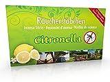 10 Packungen Citronella Anti Mücken Räucherstäbchen, Brenndauer ca. 60h (gesamt). XL Vorrat als Alternative zur Citronella Kerze oder Teelichter für draußen / im Garten