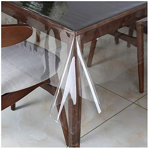 Emmevi tovaglia cucina trasparente proteggitavolo antimacchia pvc al metro altezza 130cm su misura mod.kristal trasparente s/c