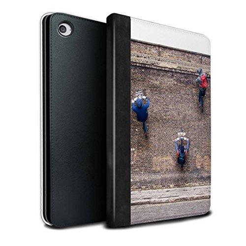 STUFF4 PU-Leder Hülle/Case/Brieftasche für Apple iPad Mini 4 tablet / Ersten Gang Muster / Vorstellen Kollektion (Firstgear Leder)