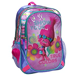 51VU4ojcNRL. SS300  - Mochila Trolls True Colors adaptable 43cm
