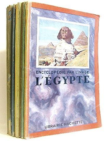 Froid Costumes - 11 volumes. Encyclopédie par l'Image; l'Egypte -le