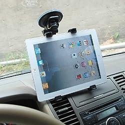 Bingsale Auto KFZ Halterung Autohalterung 360 Grad drehbar für Ipad Air Ipad 2 3 4 Ipad mini 2 Ipad mini Samsung galaxy tab 3 10.1 8.0 7.0 samsung galaxy note 8.0 10.1 2014 Amazon Kindle fire HDX 7 8.9 Google Nexus 7 FHD 7-10 Zoll Tablet GPS DVR ...