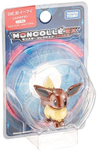 Takaratomy Pokemon Sun & Moon EX EMC-09 Mini Figura de acción, Eevee 3