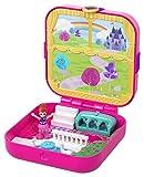 Polly Pocket Coffret Secret Le Château de Rêve de Lila avec mini-figurine, 3Surprises, accessoires et autocollants, jouet enfant, édition 2019, GDK80
