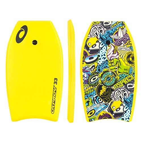 "Osprey 33"" Stickers XPE Childs Bodyboard - Yellow"
