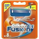 Gillette Fusion 8-pack Razor blades Rasierklingen 100% ORIGINAL
