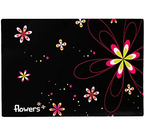 alles-meine.de GmbH Schreibtischunterlage / Unterlage -  Blumen & Blüten  - 60 cm * 40 cm - Tischunterlage / Knetunterlage / Bastelunterlage - Größe A2 - mit Einschubfach - abw..